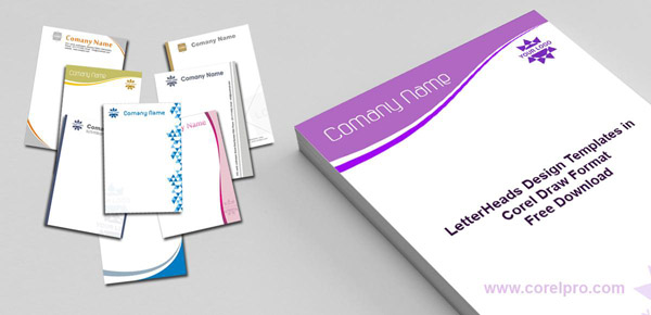Letterhead Template Designs