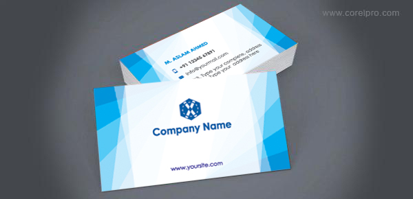 Business card template for free download corelpro for Corel video studio templates download