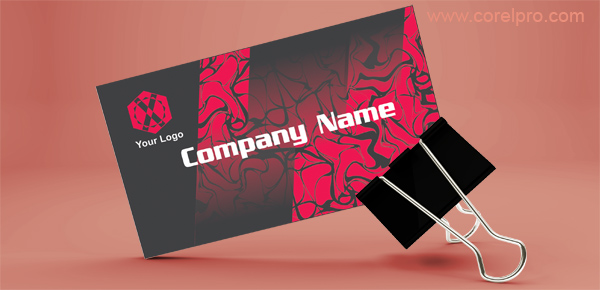 Business Card Template (Red)