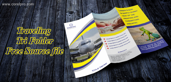 Traveling Tri fold Brochure