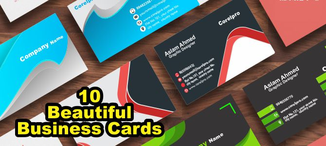 10 Business Cards Templates