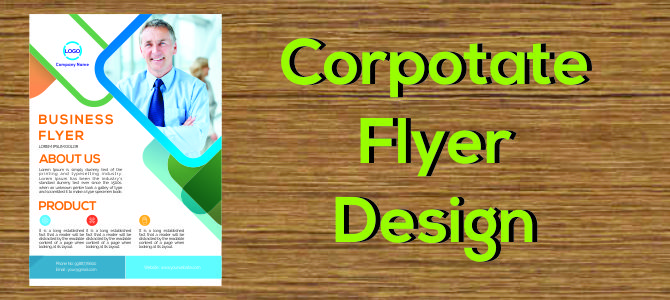 corporate flyer design corelpro